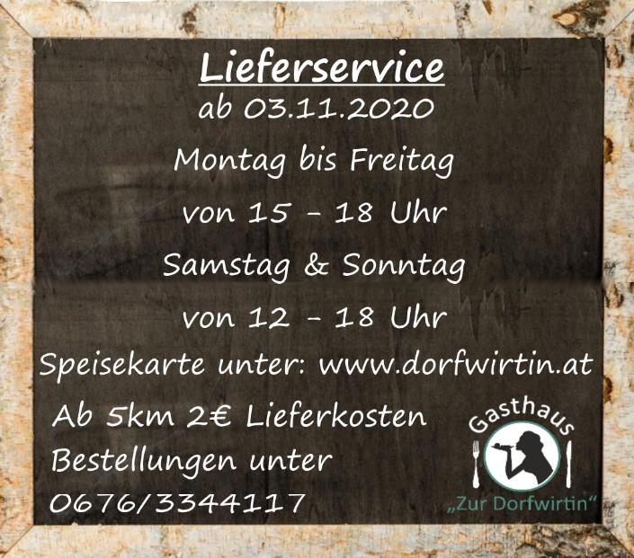 Lieferservice Dorfwirtin Altendorf